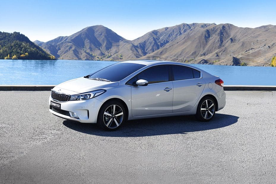 Cerato Front angle low view