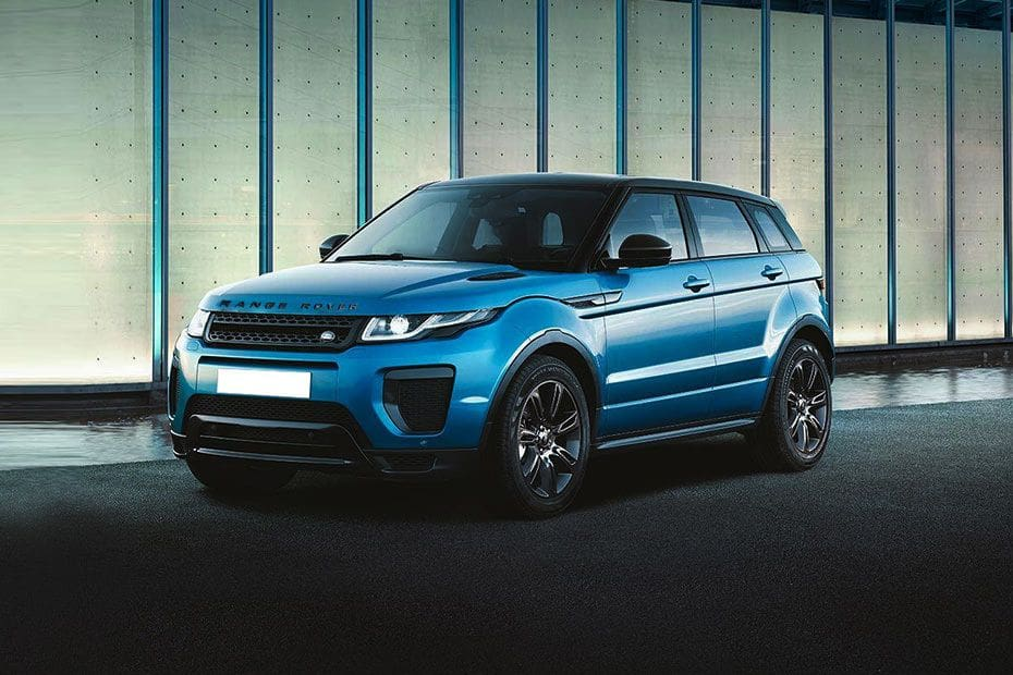 Range Rover Evoque Front angle low view