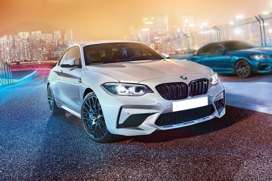 M2 Coupe Front angle low view