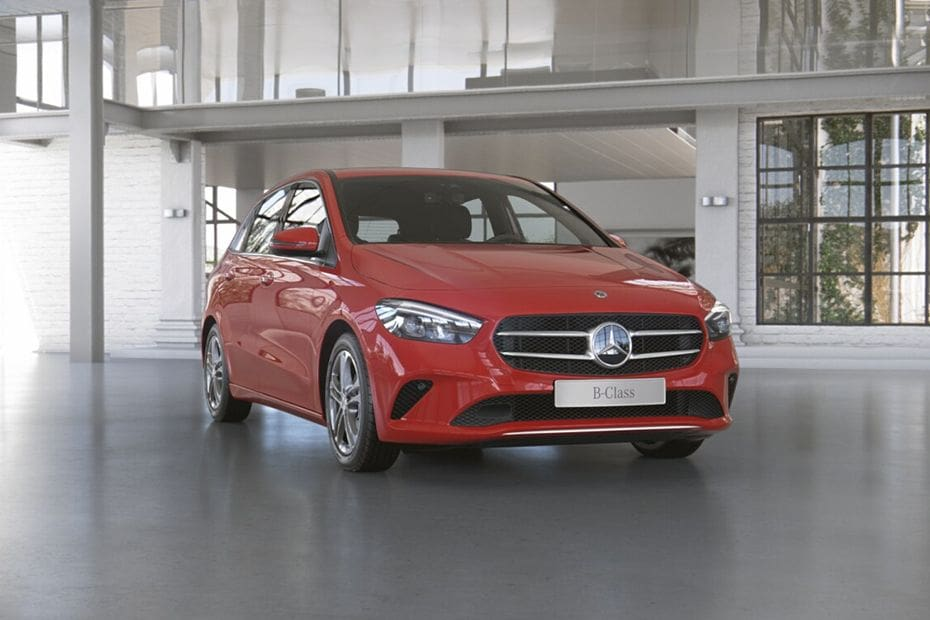 Mercedes Benz B-Class Pictures