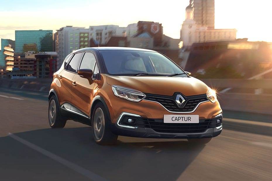 Renault Captur Front Medium View
