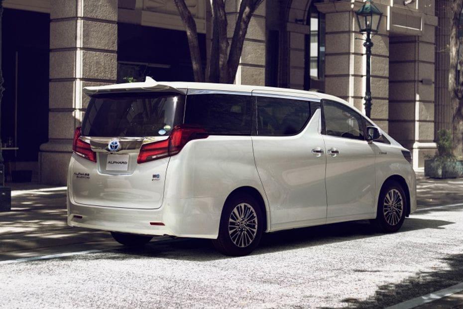 Toyota Alphard 2020 Colors