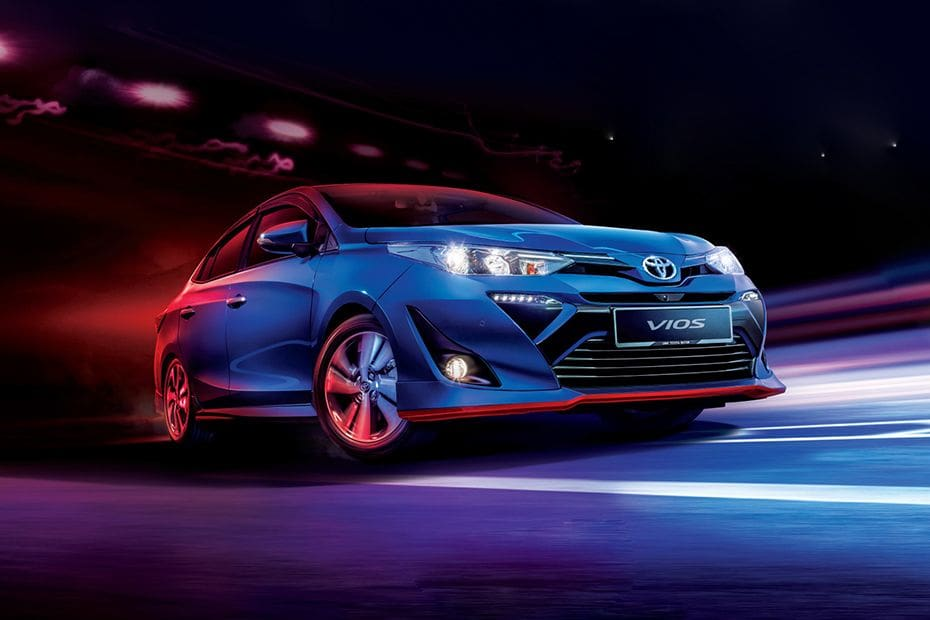 Vios Front angle low view