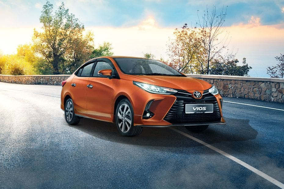Vios 2020 Front angle low view