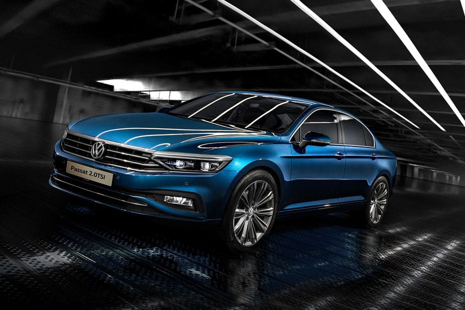 Passat 2020 Front angle low view