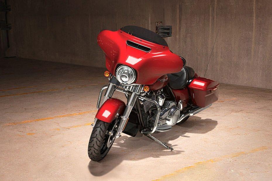 Harley-Davidson Street Glide Slant Front View Full Image