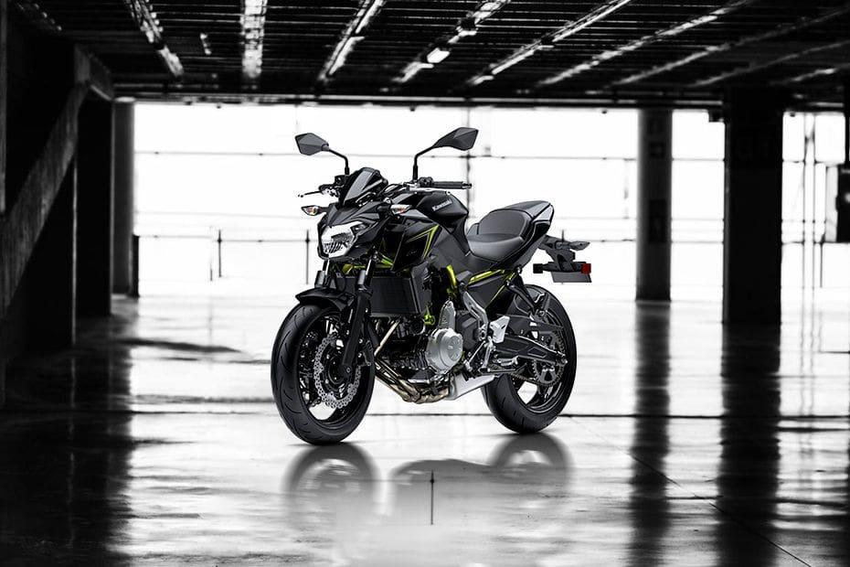 Kawasaki Z650 ABS Slant Front View Full Image