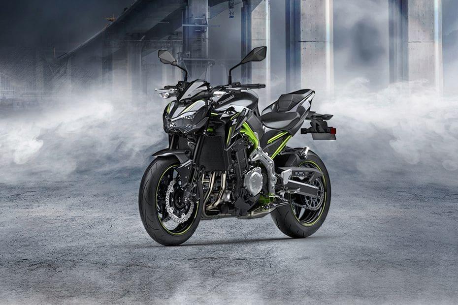 Kawasaki Z900 ABS Slant Front View Full Image
