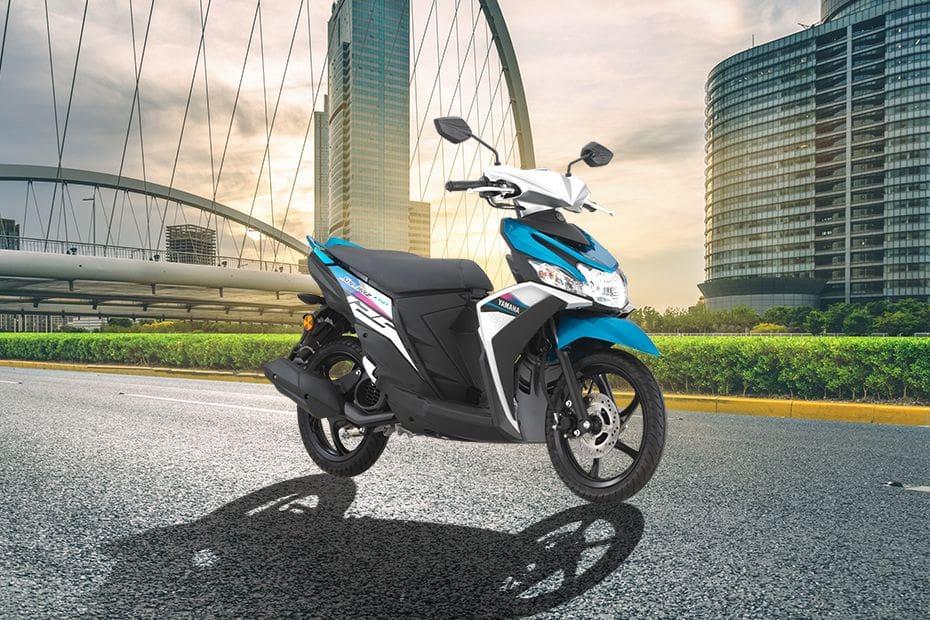 Yamaha Ego Solariz Slant Front View Full Image