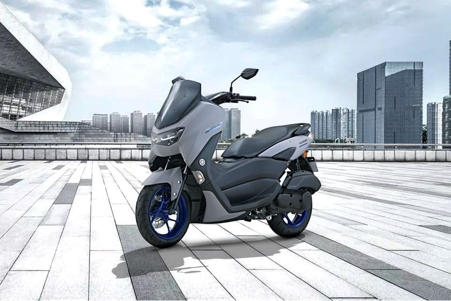 Yamaha NMAX Slant Front View Full Image