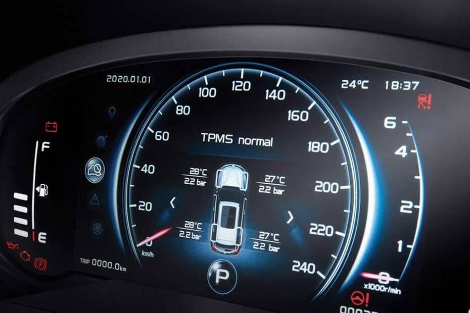 X70 2020 TachoMeter