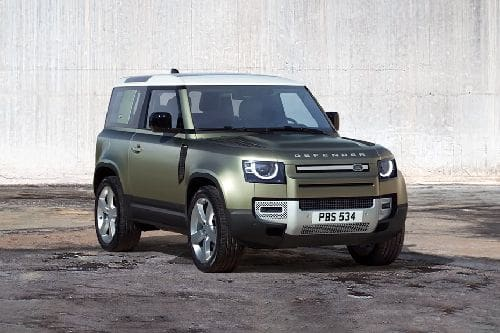 Defender 2021 Front angle low view