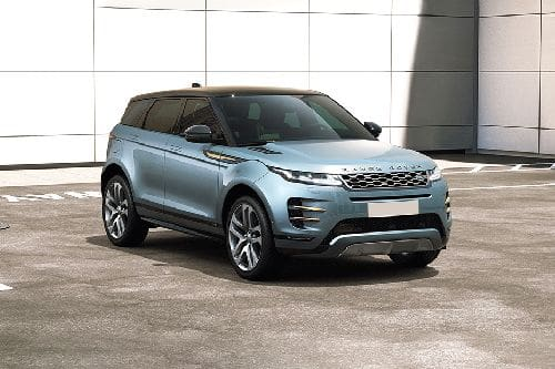 Range Rover Evoque 2020 Front angle low view