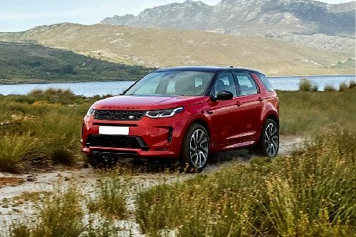 Discovery Sport 2020 Front angle low view