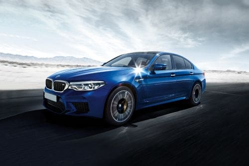 M5 Front angle low view