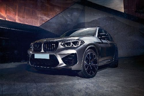 X3 M Front angle low view