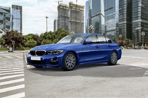 3 Series Sedan Front angle low view