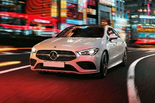 CLA-Class Coupe Front angle low view