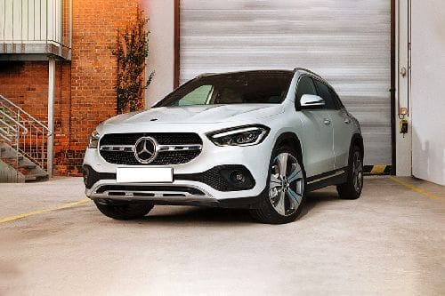 GLA-Class Front angle low view