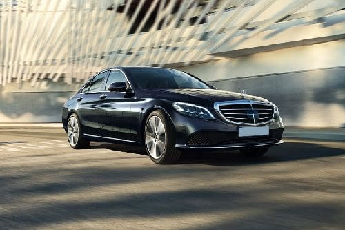 C-Class Saloon Front angle low view