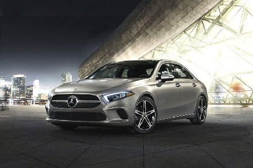 A-Class Sedan 2021 Front angle low view