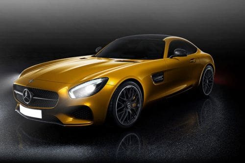 AMG GT Front angle low view