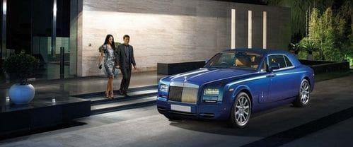 Rolls Royce Phantom Front Side View