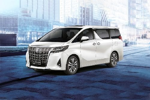 Alphard 2020 Front angle low view
