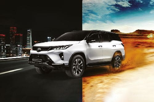 Fortuner 2021 Front angle low view