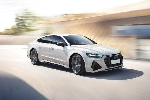 RS 7 Sportback Front angle low view