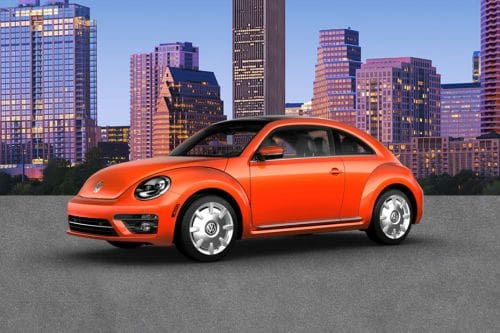 Beetle Front angle low view
