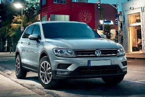 Tiguan Front angle low view