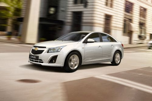 Cruze Front angle low view