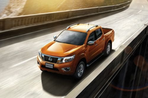 Navara Front angle low view