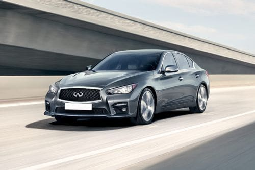 Q50 Front angle low view