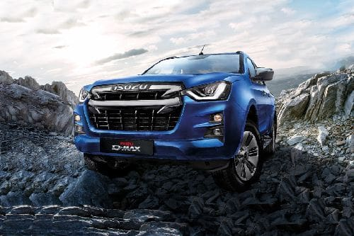 D-Max 2021 Front angle low view