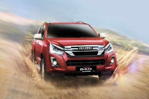 D-Max 2019 Front angle low view