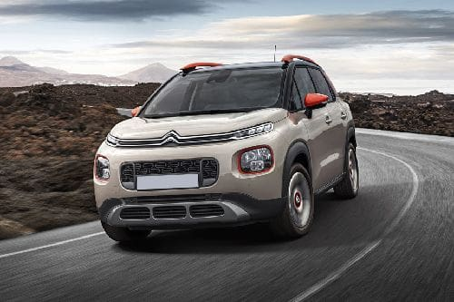 C3 Aircross Front angle low view