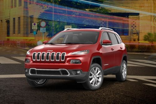 Cherokee Front angle low view