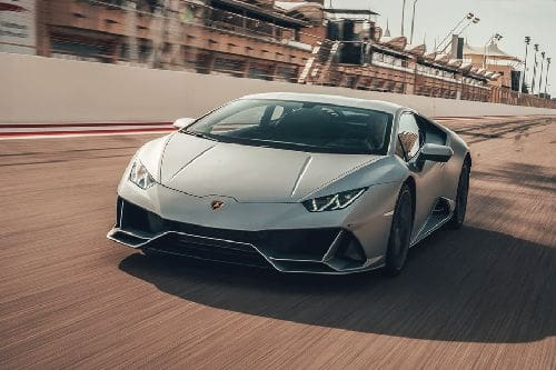 Huracan Evo Front angle low view