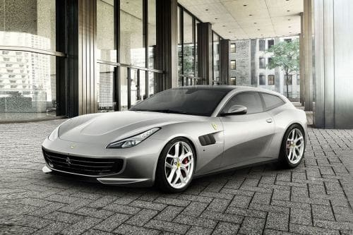 GTC 4Lusso T Front angle low view