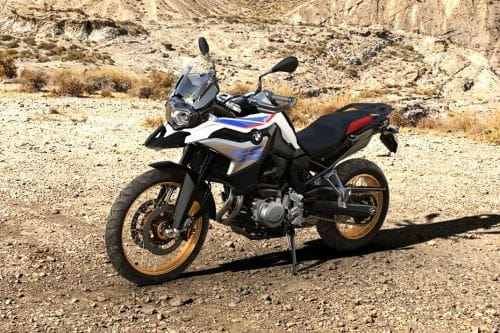 BMW F 850 GS Slant Front View Full Image