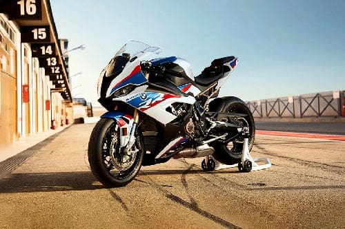 BMW S 1000 RR Slant Front View Full Image