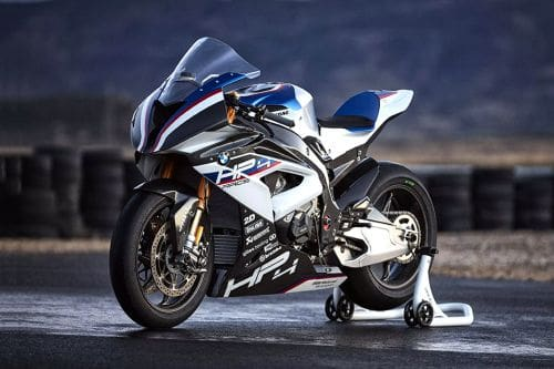BMW HP4 Race Slant Front View Full Image