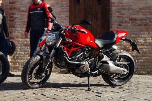 Ducati Monster 821 Left Side View Full Image