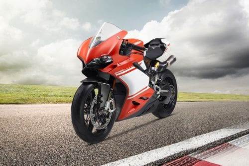Ducati 1299 Superleggera Slant Front View Full Image
