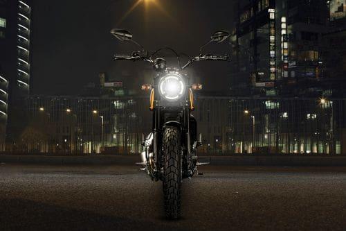 Ducati Scrambler Classic Front View Full Image