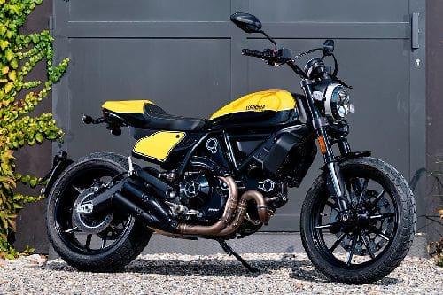 Ducati Scrambler Full Throttle Slant Rear View Full Image