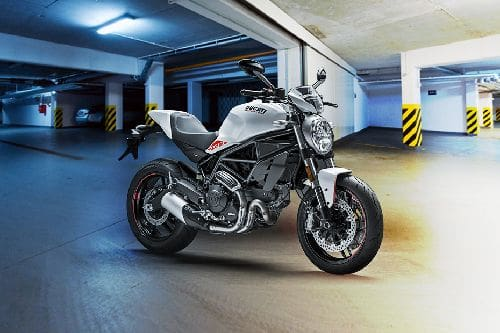 Ducati Monster 797 Slant Rear View Full Image
