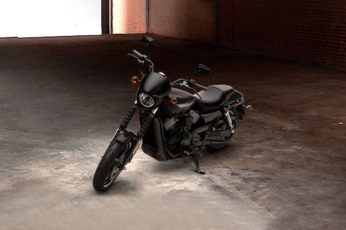 Harley-Davidson Street 750 Slant Front View Full Image